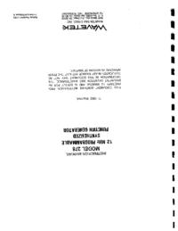 Wavetek-11122-Manual-Page-1-Picture