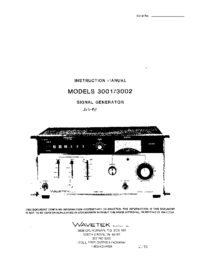 Wavetek-11128-Manual-Page-1-Picture