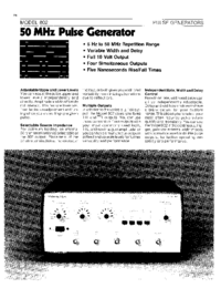 Wavetek-6387-Manual-Page-1-Picture