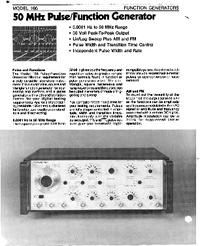 Wavetek-6421-Manual-Page-1-Picture
