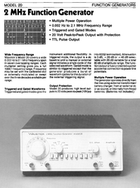 Wavetek-6424-Manual-Page-1-Picture