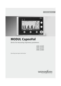 Servicehandboek Weinmann MODUL CapnoVol WM 22400