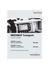 User Manual Weinmann MEDUMAT Transport WM28400