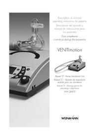 User Manual Weinmann VENTImotion WM 24800