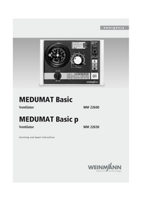 Manual de servicio Weinmann MEDUMAT Basic WM 22600