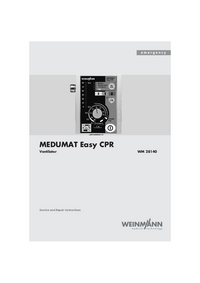manuel de réparation Weinmann MEDUMAT Easy CPR WM 28140
