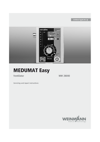 Manual de servicio Weinmann MEDUMAT Easy WM 28000