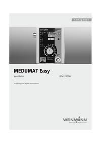 Serviceanleitung Weinmann MEDUMAT Easy WM 28000