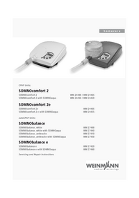 Service Manual Weinmann SOMNObalance e with SOMNOaqua WM 27460