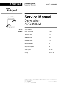 Service Manual Whirlpool ADG 4556 M