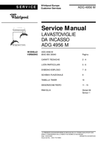 Service Manual Whirlpool ADG 4956 M