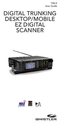 User Manual Whistler TRX-2