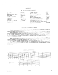 Manuale d'uso Wilson SY-33