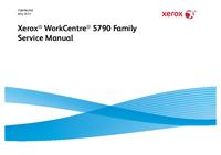 Instrukcja serwisowa Xerox WorkCentre 5790 Family