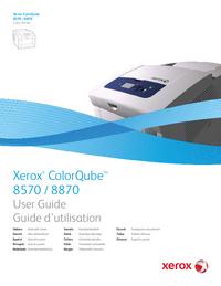 User Manual Xerox ColorQube 8570