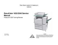 Servicehandboek Xerox DocuColor 2240