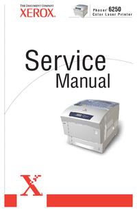 manuel de réparation Xerox Phaser 6250
