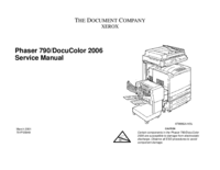 Service Manual Xerox Phaser 790