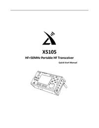 manuel de réparation Xiegu X5105