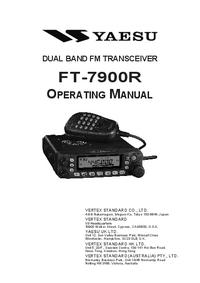 Bedienungsanleitung Yaesu FT-7900R