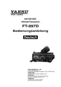 User Manual Yaesu FT-897D