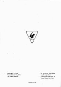 Service Manual Yaesu FT-23R