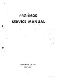 Manual de serviço Yaesu FRG-9600