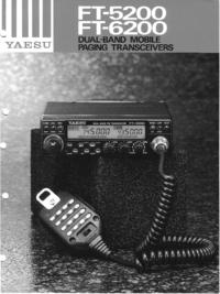 Service Manual Yaesu FT-5200