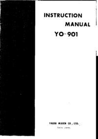 Servicio y Manual del usuario Yaesu Yo-901