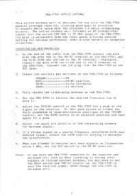 Manual do Usuário, Cirquit Diagrama Yaesu FRA-7700