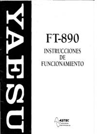 User Manual Yaesu FT-890