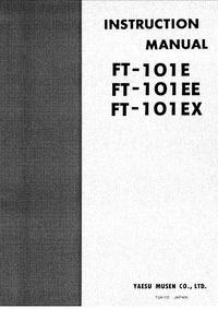 User Manual with schematics Yaesu FT-101EE