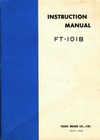 Bedienungsanleitung mit Schaltplan Yaesu FT-101B