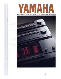 Catalog Yamaha XXXXX