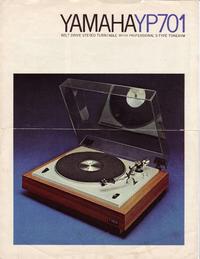 folha de dados Yamaha YP701