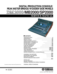 Service Manual Yamaha DM2000