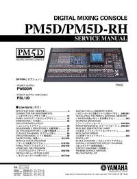 Instrukcja serwisowa Yamaha PW800W