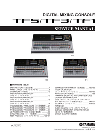 Service Manual Yamaha TF5