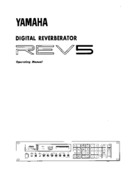 Manual del usuario Yamaha REV5