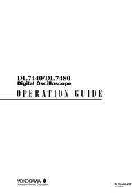 Manual del usuario Yokogawa DL7440