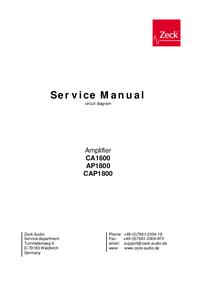 Схема Cirquit Zeck AP1800