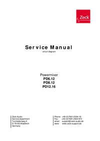 Cirquit diagramu Zeck PD12.16