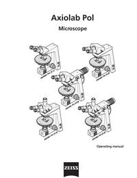 Manual del usuario Zeiss Axiolab Pol