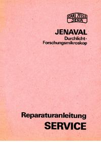 Manual de serviço Zeiss Jenaval
