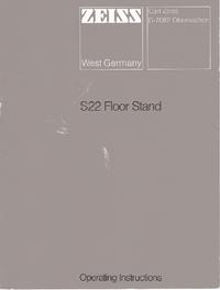 User Manual Zeiss S22