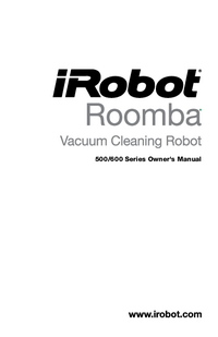 User Manual irobot Roomba 600 Series